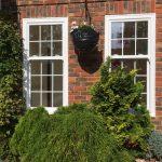 White Sash Windows in London