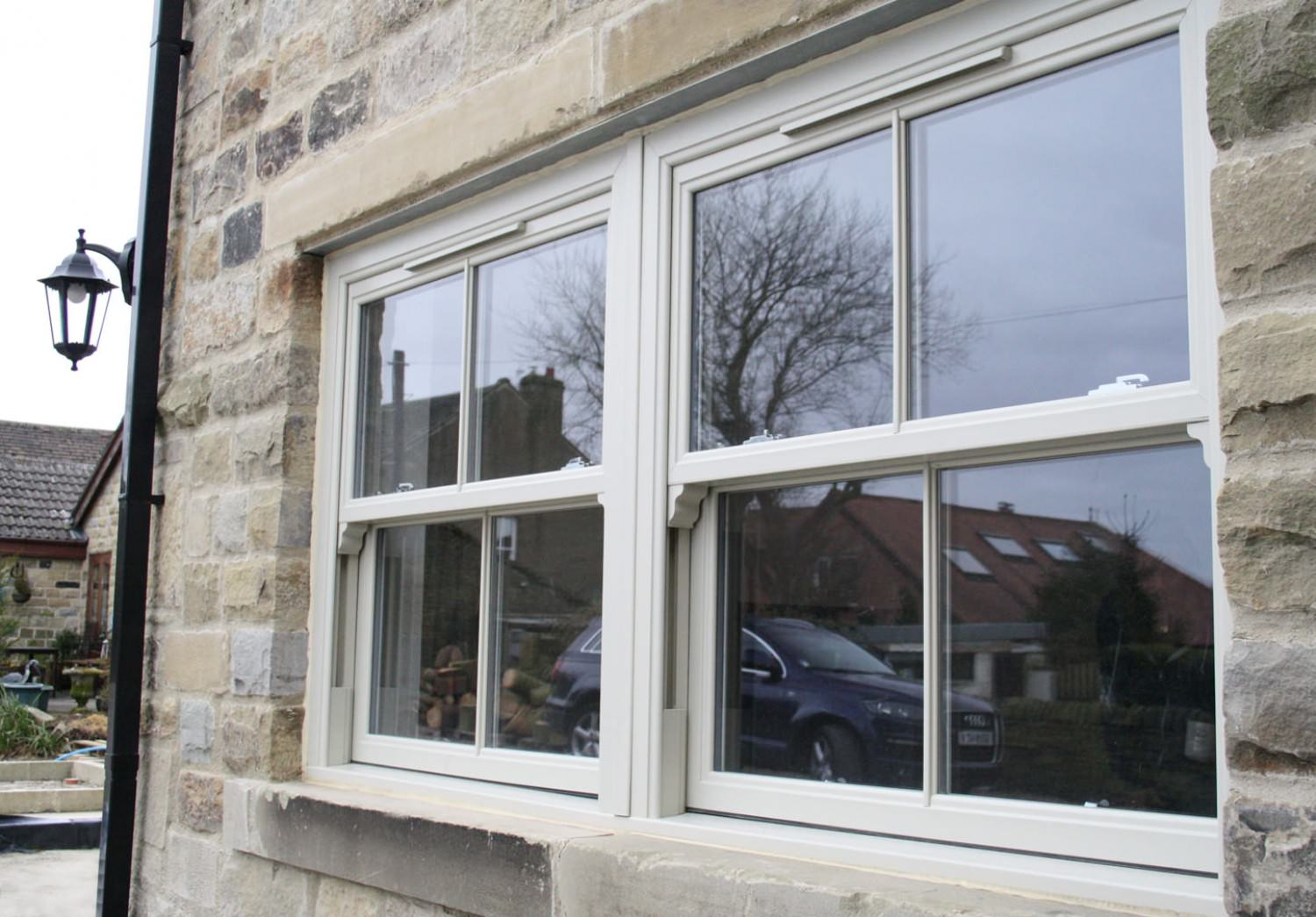 Can timber Sash Windows be Double Glazed? Surrey
