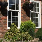 Cream Sash Windows