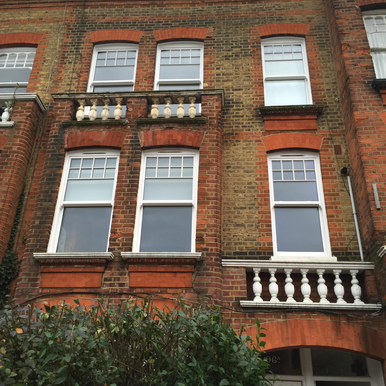 Edwardian Sash windows London